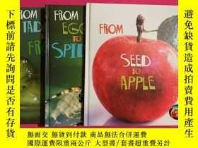 二手書博民逛書店How罕見Living Things Grow:From Egg to Spider、From Seed to A