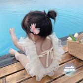 兒童泳衣 女童夏裝2019新款女寶寶泳衣連身衣洋氣公主泳服潮1-3歲 2色