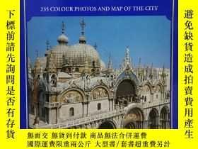 二手書博民逛書店威尼斯罕見全彩畫冊 235幅彩色圖片 All Venice 235 Colour Photos and Map o