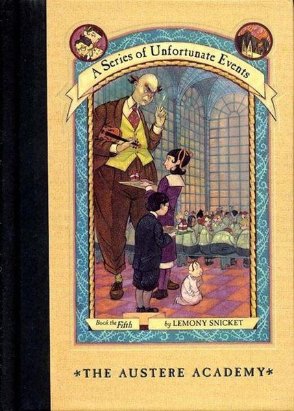 (二手書)Series of Unfortunate Events #05: The Austere Academy