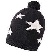 羊毛毛帽-毛球五星簡約保暖男針織帽2色73wj30【時尚巴黎】