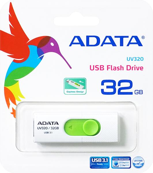 威剛32G隨身碟USB3.1 (AUV320-32G-RWHGN) ADATA
