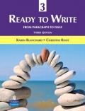 二手書博民逛書店 《Ready to Write 3: From Paragraph to Essay (3rd Edition)》 R2Y ISBN:0131363344│Blanchard