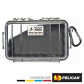 美國 PELICAN 派力肯 塘鵝 1050 Micro Case 派力肯 塘鵝 微型防水氣密箱 透明 黑色 公司貨