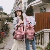 雙肩包女ins超火書包女韓版原宿ulzzang 高中學生超輕旅游背包