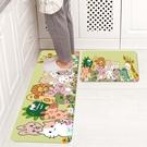 廚房長條地墊 防滑免洗可擦耐臟長條防油腳墊衛生間浴室門口吸水地毯墊