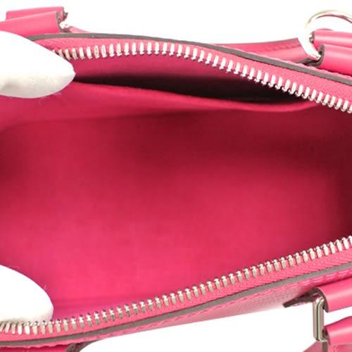 Louis Vuitton LV M53357 ALMA BB EPI 水波紋迷你手提斜背艾瑪包.桃紅 全新 預購【茱麗葉精品】