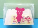 【震撼精品百貨】PostPet_MOMO熊~MOMO熊透明盒子附貼紙#76722