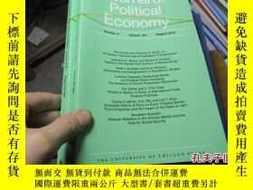 二手書博民逛書店journal罕見of political economy 20