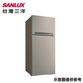 好禮送★【SANLUX台灣三洋】580公升變頻雙門冰箱SR-C580BV1A