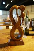藝術雕刻品-勝利之吻 11*6*30 cm
