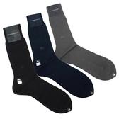 BURBERRY經典格紋混毛料紳士襪(3色)088904