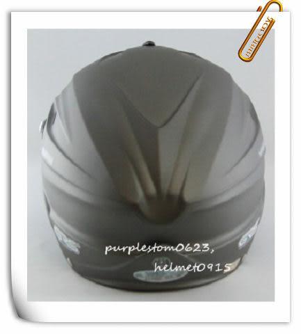 林森●GRS半罩安全帽,半頂式,瓜皮帽,雪帽,760,消光灰