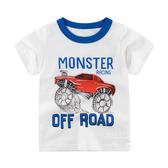 酷炫越野車短袖T恤上衣 T-shirt 童裝