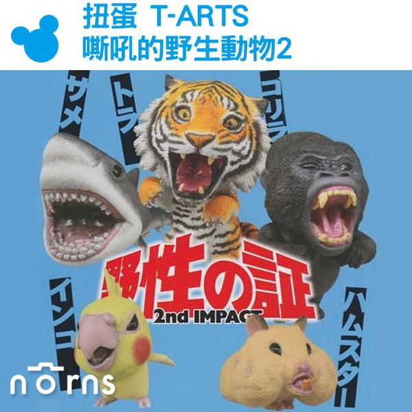 【轉蛋-T-ARTS 嘶吼的野生動物2 野性之証】Norns 扭蛋 野獸 玩具 公仔 雜貨