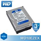 【免運費-3年保固】WD10EZEX 1TB 藍標 3.5吋 7200轉 SATA3硬碟 (64MB快取) 代理商盒裝貨