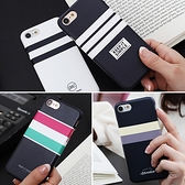 韓國 條紋配色 硬殼 手機殼│iPhone 6 6S 7 8 Plus X XS MAX XR 11 Pro LG G7 G8 V40 V50│z8316