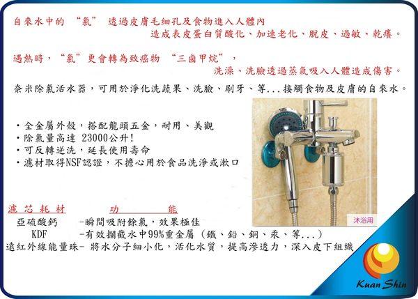 UNION賀眾 U-2026 奈米除氯活水器 [沐浴用]