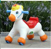 【新年鉅惠】兒童搖馬帶音樂搖搖馬大號二合一滑行溜溜車早教搖滑兩用塑料玩具