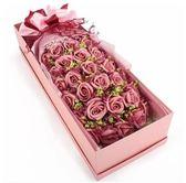 玫瑰花禮盒畢業生日閨蜜友情表白禮物-33朵粉玫瑰