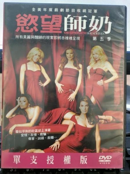 挖寶二手片-0063-正版DVD-影集【慾望師奶 第5季 第五季 全24集6碟】-(直購價)