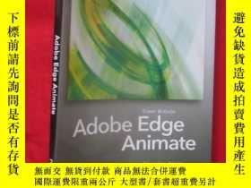 二手書博民逛書店Adobe罕見Edge Animate: Using Web S