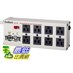 [104美國直購] Tripp Lite ISOBAR8ULTRA Isobar Surge Protector Metal 8 Outlet 12 feet Cord 3840 Joules 電源插座_TC22