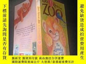 二手書博民逛書店The罕見Lonely Lion Cub (Zoe's Rescue zoo)Y333530