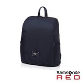 Samsonite RED CLODI簡約輕巧抓皺設計後背包 12.5 (海軍藍)