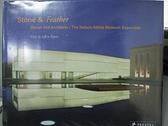 【書寶二手書T9/音樂_EWU】Stone & Feather: Steven Holl Architects / Ne