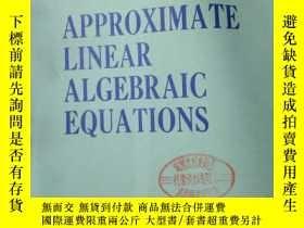 二手書博民逛書店Approximate罕見ar Algebraic Equati