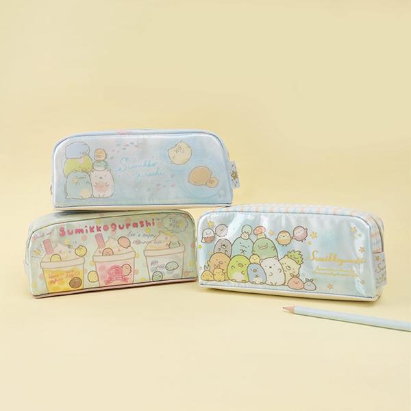 日貨PVC角落生物筆袋- Norns日本SAN-X正版 鉛筆盒 文具收納包