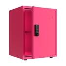 保險箱 全鋼小型密碼儲物柜辦公家用保密收納柜桌下可移動帶鎖鐵皮小柜子