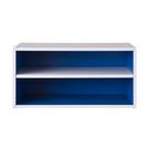 空櫃 收納【收納屋】艾莉絲加大二格櫃-藍色&DIY組合傢俱