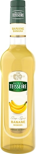Teisseire 糖漿果露-香蕉風味 Banana Syrup 法國頂級天然糖漿 700ml-【良鎂咖啡精品館】
