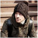 (都有現貨)冬保暖必備 編織麻花 毛球AngelNaNa 針織 男女毛帽子(SHA0005)