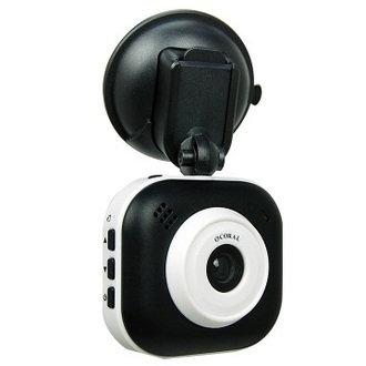 [富廉網] 【CORAL】DVR-318(免費升級成DVR-628) 熊貓眼 小巧型行車記錄器