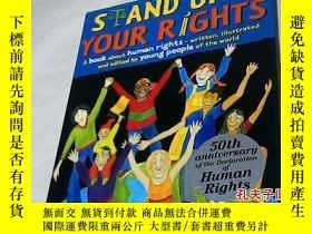 二手書博民逛書店STAND罕見UP for YOUR RIGHTS【英文原版】Y