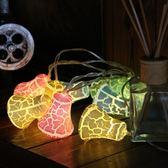 led彩燈閃燈串燈滿天星鈴鐺電池霓虹星星燈節日圣誕小彩燈裝飾燈 igo