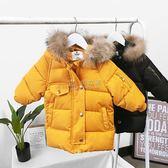 冬季女童羽绒服 反季棉服 新款棉襖冬季男童羽絨棉衣 俏女孩
