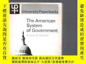 二手書博民逛書店英語社科書The罕見American System of Gov