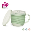 nip 環保系列二合一點心盒-綠/藍/粉 B-37069