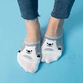 可愛造型動物棉質隱形襪【AE060501N1】THEGIRLWHO那女孩