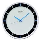 附發票 30.7公分【時間光廊】SEIKO 日本精工 滑動式秒針 靜音 掛鐘(QXA769W)白