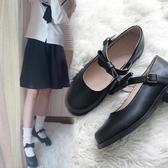 象學姐設計蝴蝶結亞啞光日系小皮鞋女學生lolita制服jk單鞋J170