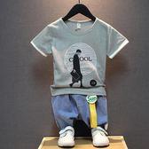 男童夏裝兒童短袖t恤男孩上衣韓版純棉童裝夏季潮童半袖 奇思妙想屋