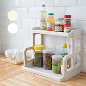簡約居家廚房調味罐置物架 廚房置物架 廚房收納架 組合式置物架