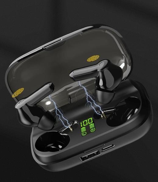 XT-01藍芽耳機 TWS 5.0 雙耳 降噪 type-c充電 無線藍牙耳機 現貨快出 igo