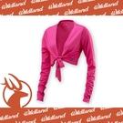 【Wildland 荒野 女 抗UV 排汗綁帶袖套衣《桃紅》】W180520/防曬風衣/長袖/開車防曬