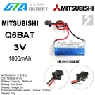 【久大電池】日本 三菱 MITSUBISHI Q6BAT CR17335SE-MC 130376 BKO-C1081 CR17335SE-R MI3